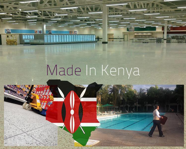 Terrazzo Flooring Made in Kenya